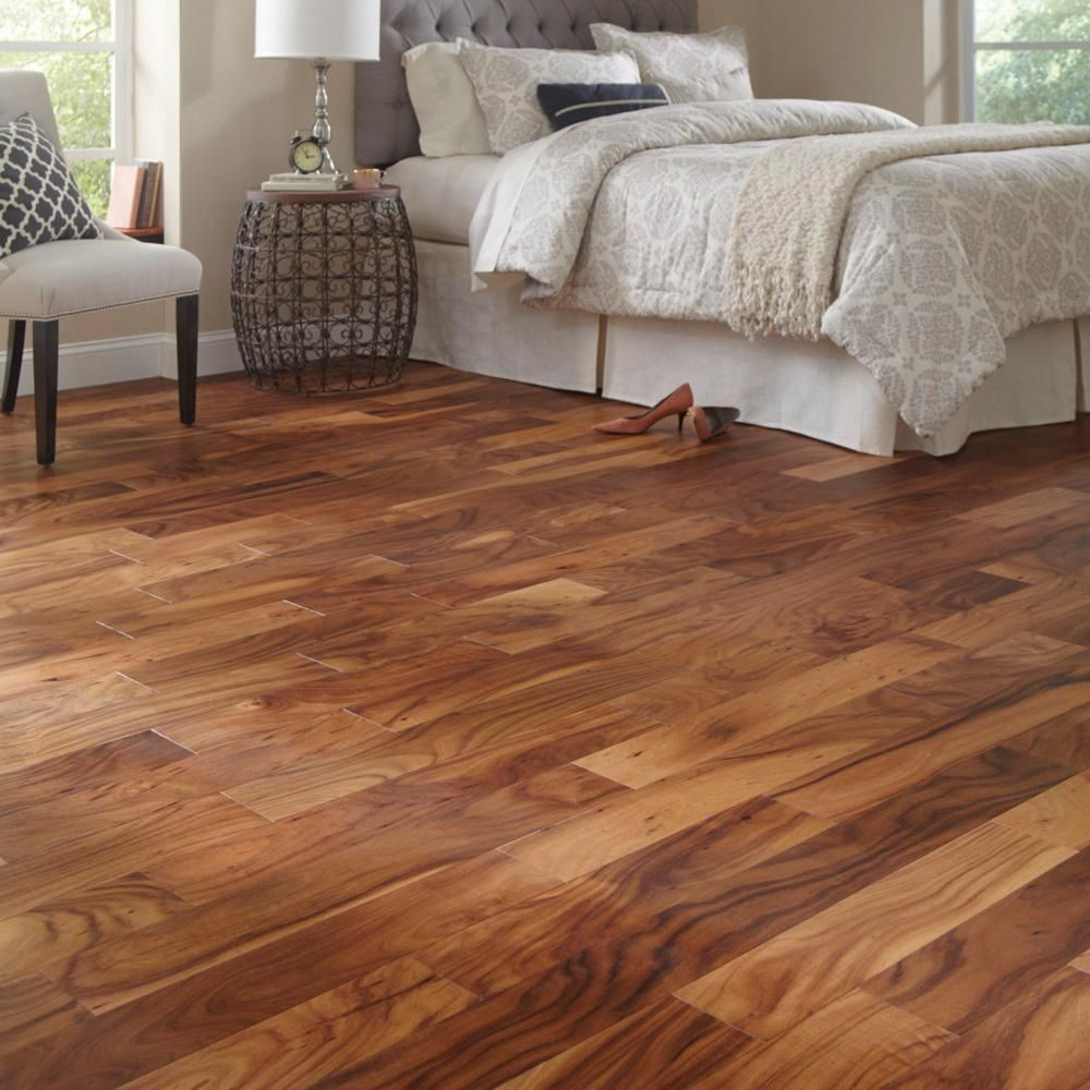 acacia hardwood flooring ideas. Matte Natural Acacia 3/8 In. Thick X 5 Wide Varying Length Click Lock Hardwood Flooring (19.686 Sq. Ft. / Case), Medium Ideas I