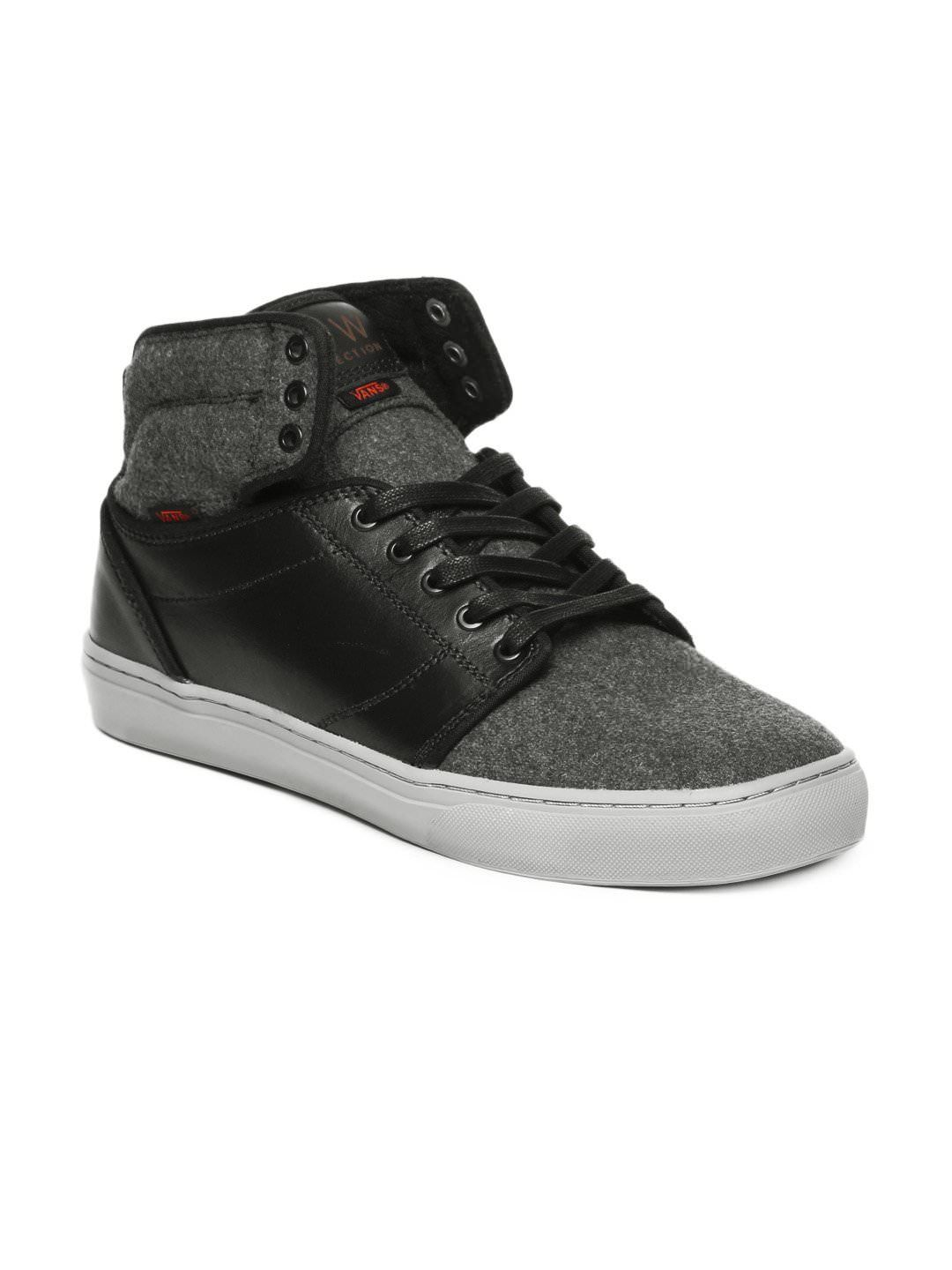 Vans Men Black Casual Shoes | Myntra