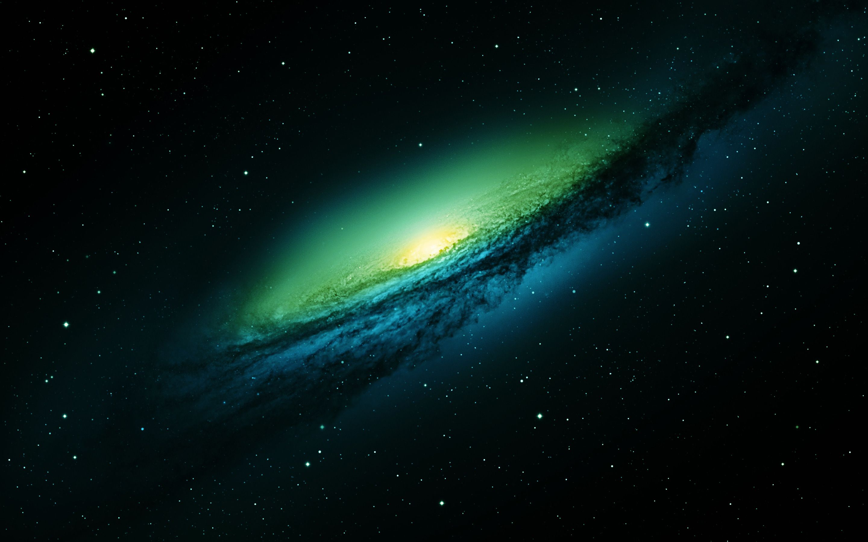 Galaxy Background For Green Screen