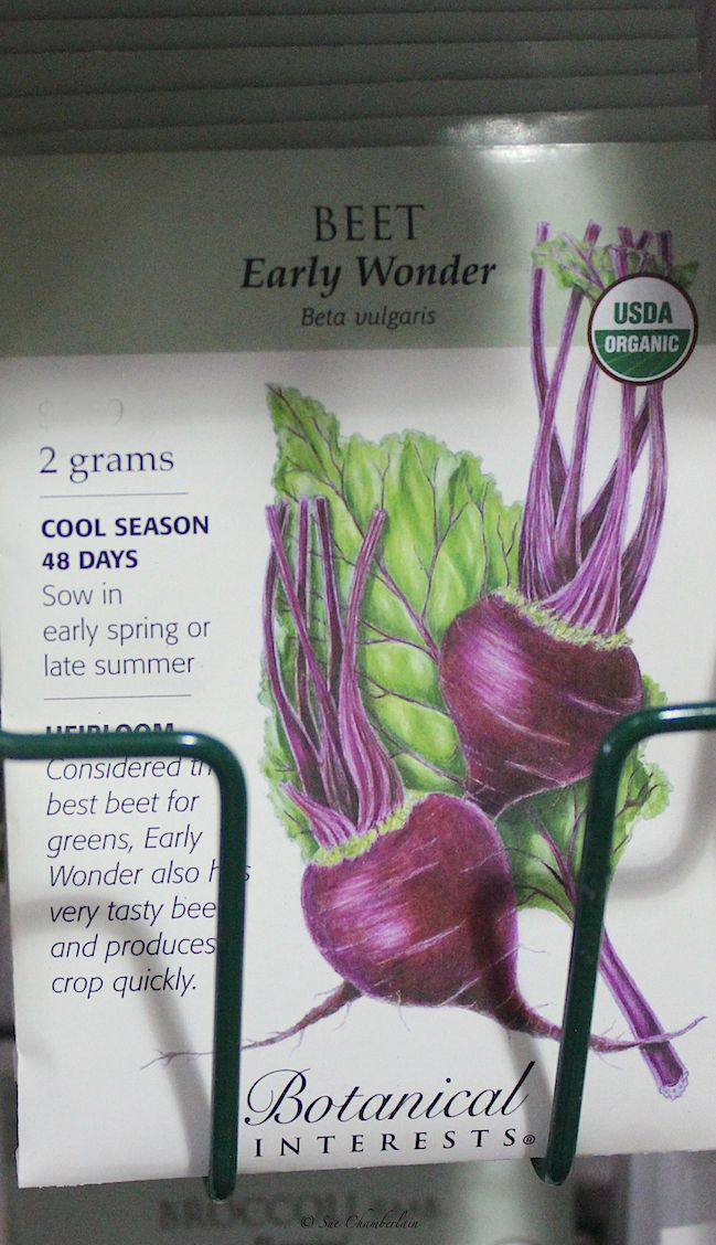 #USDA #organic #fall #seeds Explore our selection of seeds for fall plantings.  The Barn Nursery, Chattanooga 081916