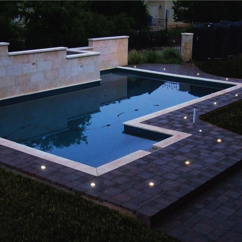 Pool Fence Diy By Life Saver Deck Cap Solar Lights To Replace Ground Caps Illuminate Pool Area When The Fence Is Removed 6 Pack Fits 1 In Sleeve In 2020 Pool Fence