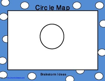 Making Thinking Maps accessible to Kindergartners.  Includes: Circle Map, Tree Map, Bubble Map, Brace map, flow map, Venn Diagram, and Bridge Map....