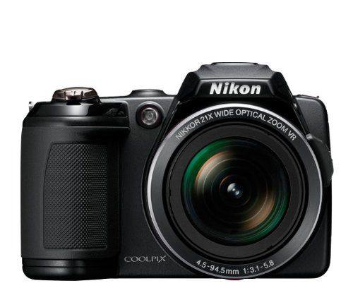 Nikon Coolpix L120 14 1 Mp Digital Camera With 21x Nikkor Wide Angle Optical Zoom Lens And 3 Inch Lcd B Coolpix Compact Digital Camera Nikon Coolpix