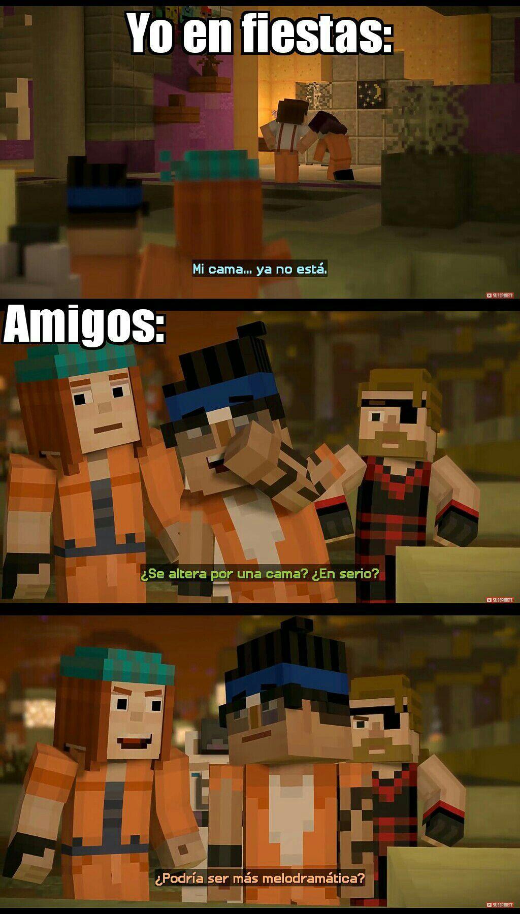 Pin On Memes De Minecraft