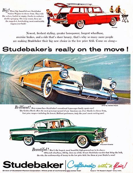 1956 Studebaker   Promotional Advertising Poster   US Trailer Will Lease  Used Trailers In Any Condition To Or From You. Contact USTrailer And Let Us  Lease ...