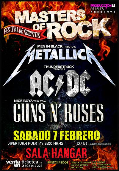 Men In Black Tributo A Metallica Thunderstruck Tributo A Ac Dc Nice Boys Tributo A Guns N Roses En Burgos El 7 De Febrero 20 Concierto Ac Dc Festival
