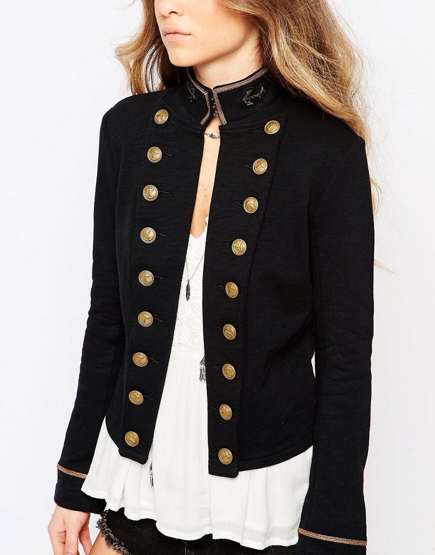 2019 year look- Style military coats for women