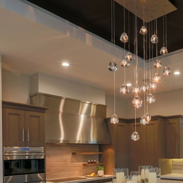 Because Lighting Creates Mood And Meaning In Your Kitchen Standardproducts Montreal Vancouver