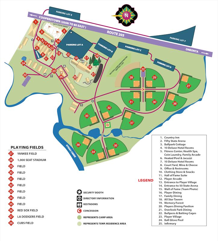 Dodger Stadium Parking Map on