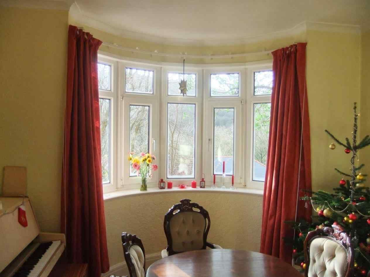 How To Curtain Bay Windows 20 Top Pictures Breakpr Bay