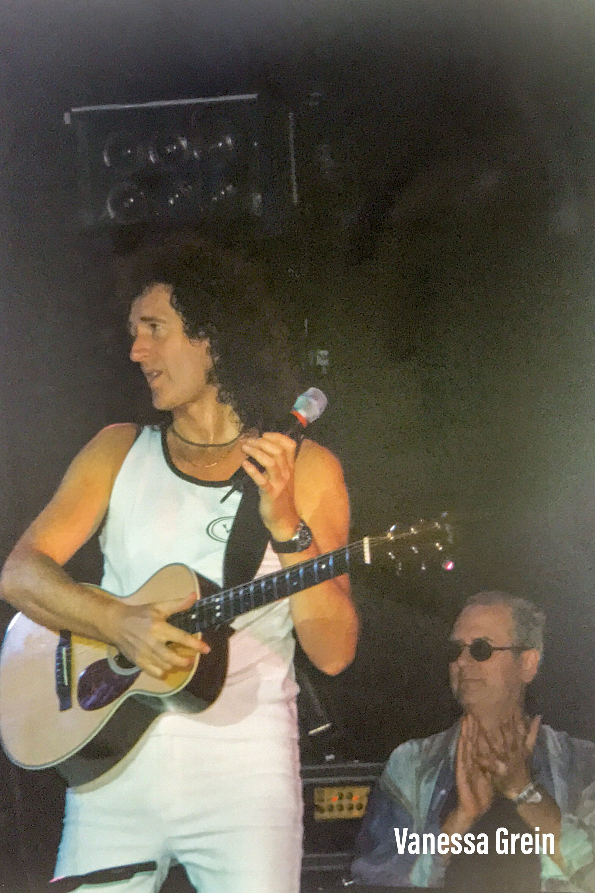 Brian May Spike Edney Another World Tour May Queen Freddie