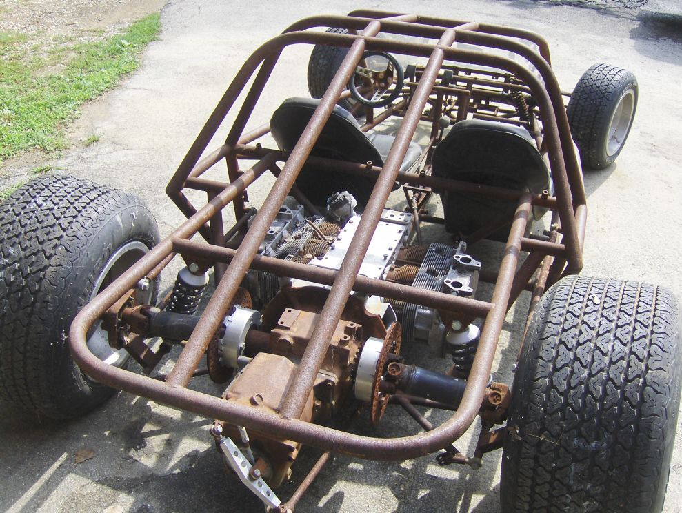 Race Car Tube Chassis Home Build BAD ASS - Great Lakes 4x4