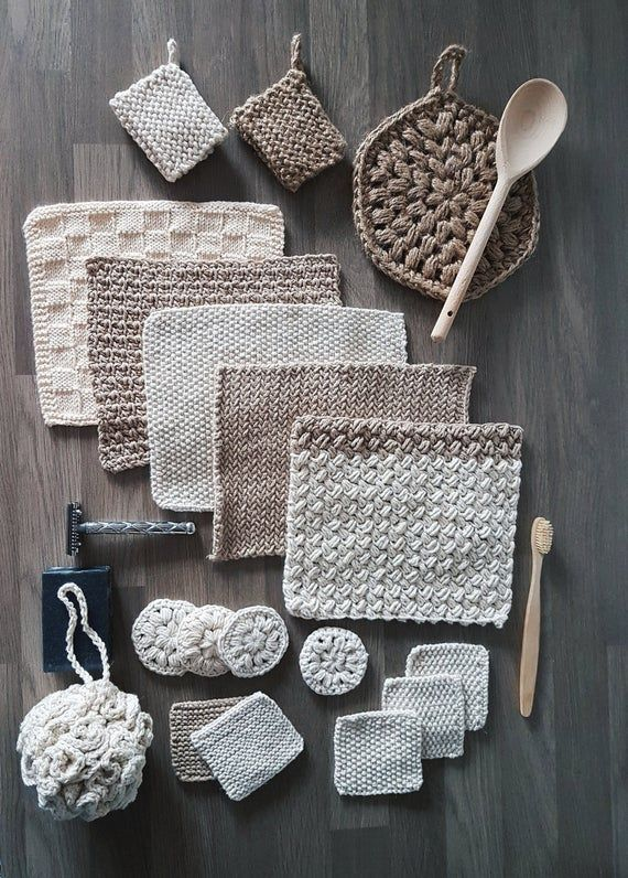 The Zero Waste Home Collection - crochet and knitt