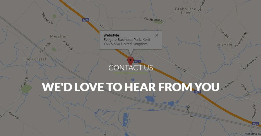 We are located in Ashford that heart of Kent, United Kingdom....