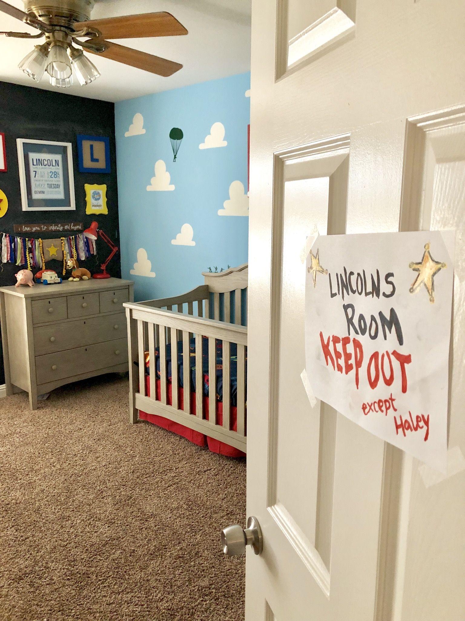 Toy Story Themed Nursery en 17 (avec images)