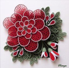 Photo of Quilling, inspired by Ayani Art by pinterzsu on DeviantArt