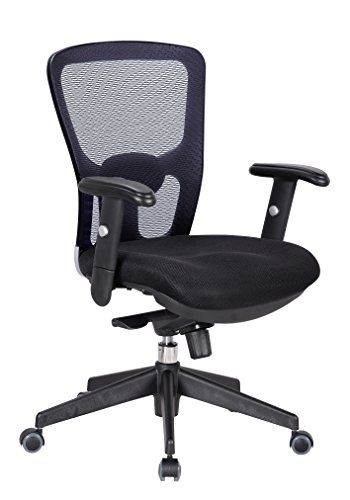 office factor ergonomic executive managers black mesh chair