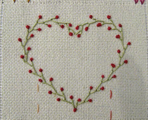 Corazn De San Valentn S Day Lilia Pinterest Stitch