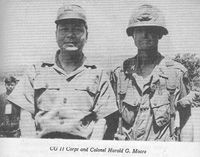 After the battle at LZ X-Ray was over, LTC Hal Moore was given a two-week leave to write his after-action report. Since this battle was conducted under the control of ARVN II Corps Headquarters, a copy of this classified report had been submitted to Colonel Hieu, II Corps Chief of Staff, who orchestrated the entire Pleime-ChuPong-IaDrang campaign. And when it came to Colonel Hieu's turn to write his after action report of the entire campaign
