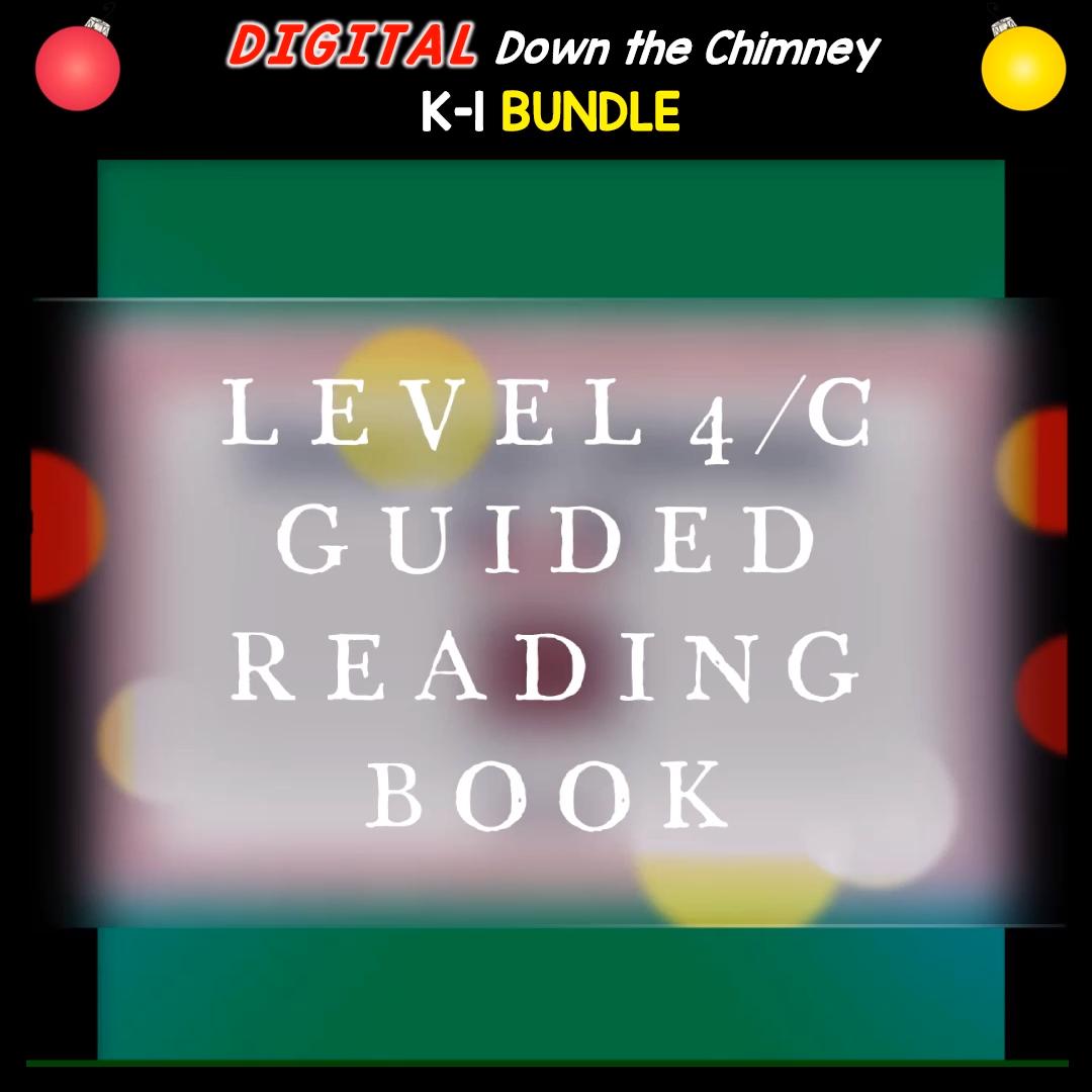 DIGITAL Down the Chimney K1 Guided Reading BUNDLEbundle