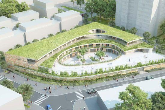 Mikou Design Studio Bobigny School Complex France