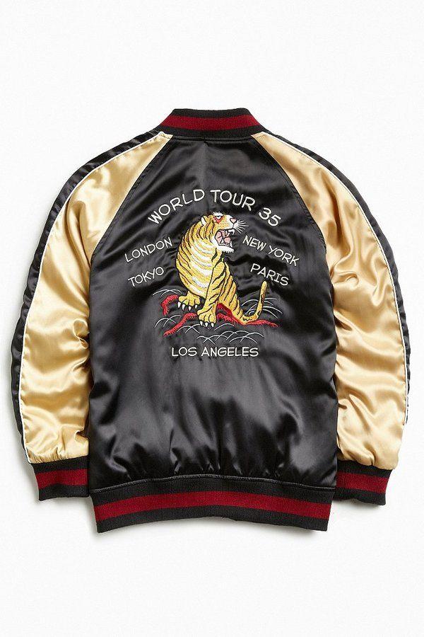 Stussy Satin Souvenir Jacket https://api.shopstyle.com/action/