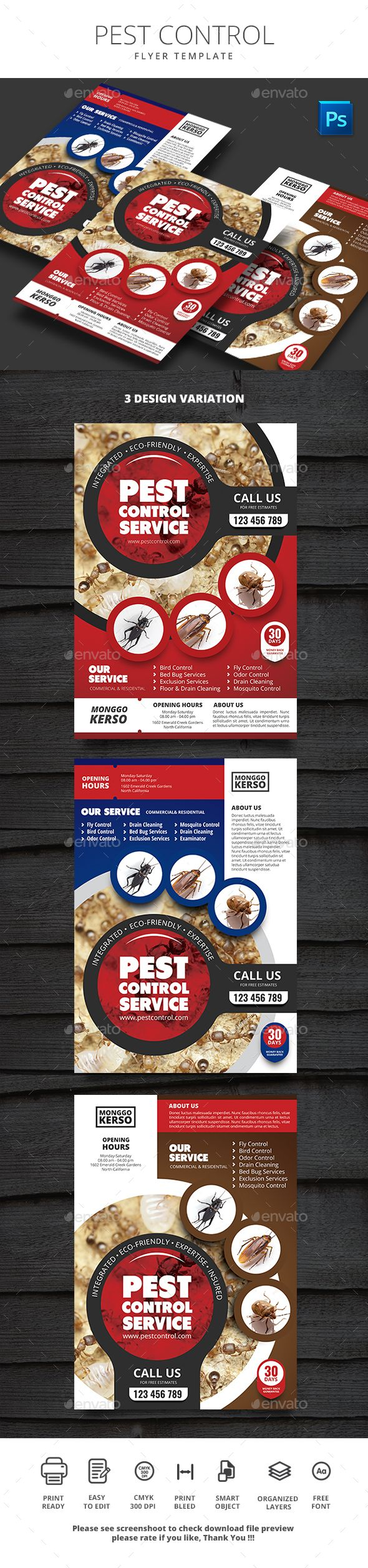 pest control commerce flyers download here httpsgraphicriver