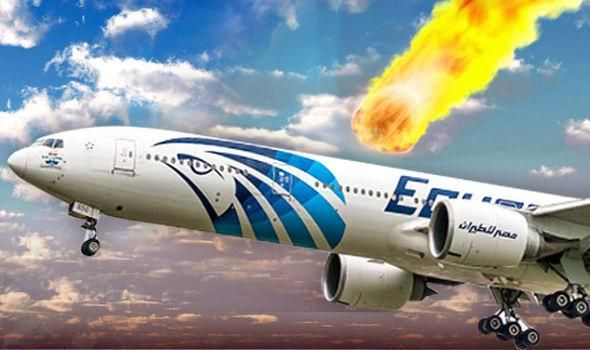 Was EgyptAir Flight MS804 Hit And Destroyed By A Meteor ...