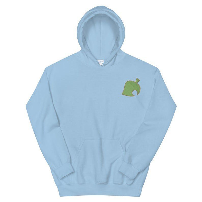 Download Animal Crossing Embroidered Hoodie Available Now Shop Link In Bio Animalcrossing Hoodie Gamer Unisex Hoodies Embroidered Hoodie Hoodies