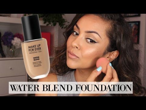 Makeup Forever Water Blend Foundation First Impression Review Trinaduhra Youtube Makeup Tutorial Makeup Forever Makeup Makeup For Teens