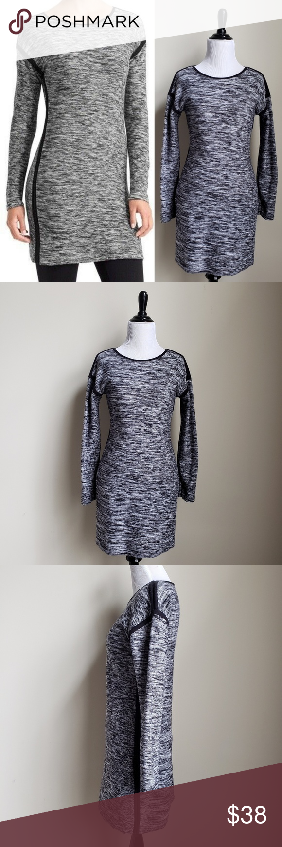 Athleta Retreat Marbled Sweater Dress Clothes Design Sweater Dress White Sweater Dress