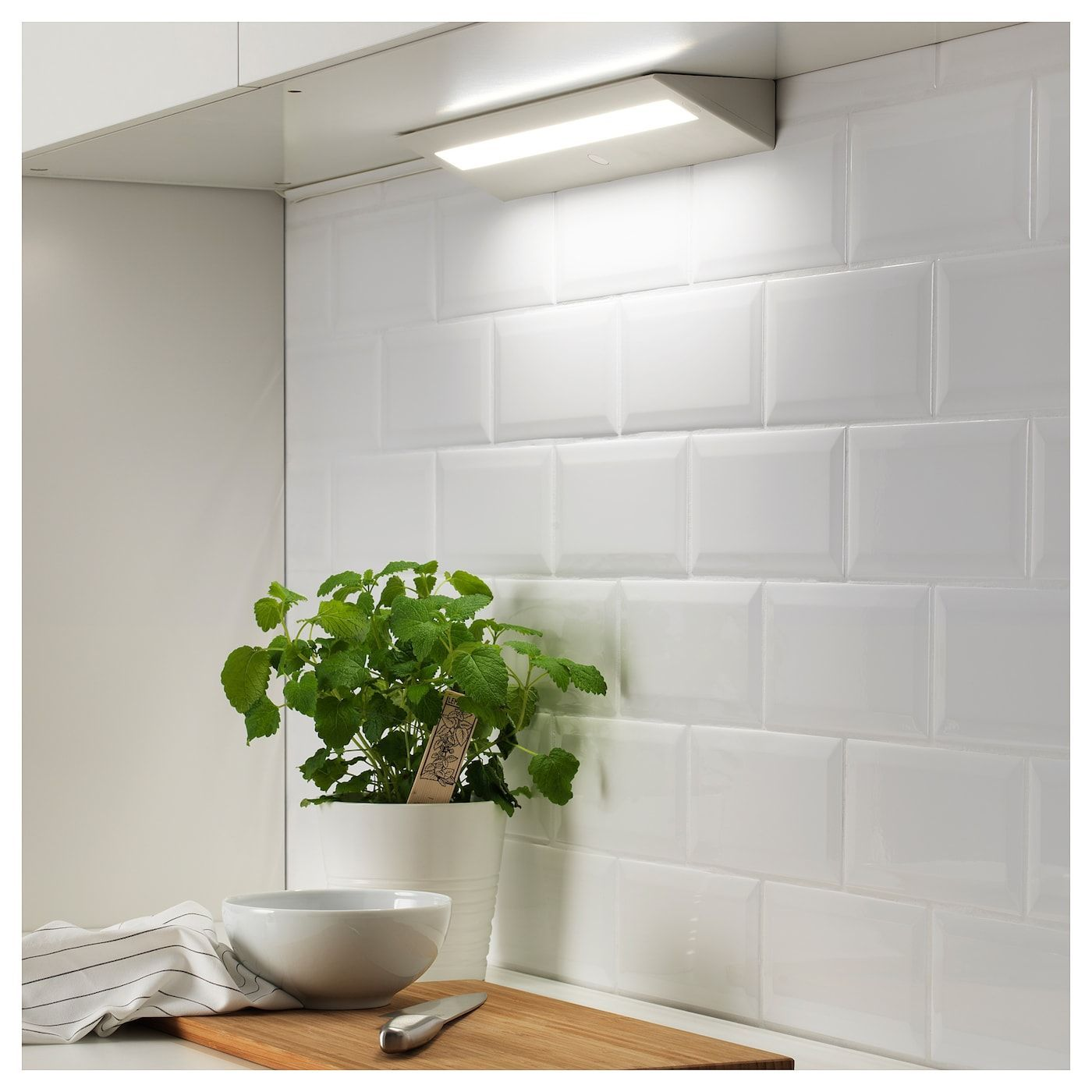 Slagsida Led Countertop Light White Ikea In 2020 Kitchen Remodel Countertops Worktop Lighting