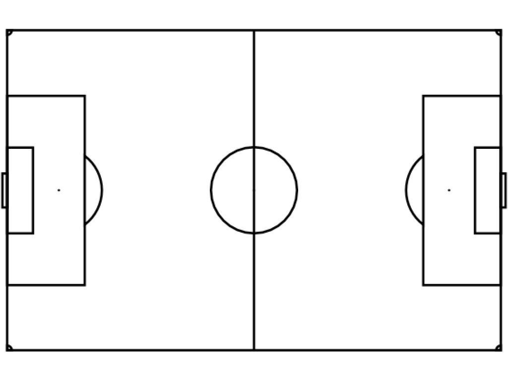 Free Blank Soccer Field Diagram Download Free Clip Art