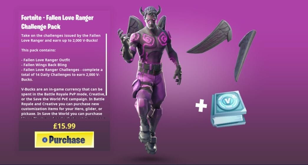 Everything You Need To Know About The Fortnite Fallen Love