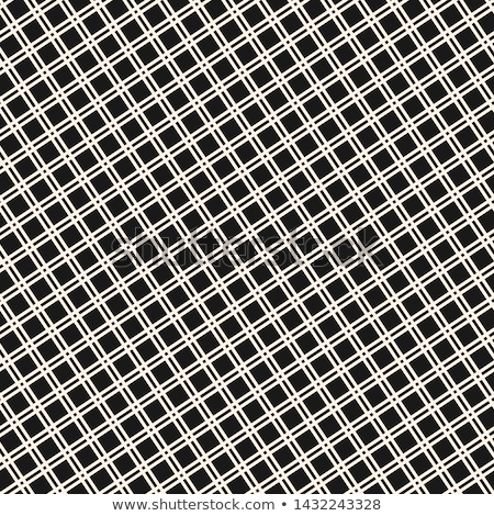 Square Grid Vector Seamless Pattern Abstract Geometric Monochrome Texture With Thin Cross Lines Grid Vector Seamless Patterns Abstract Pattern