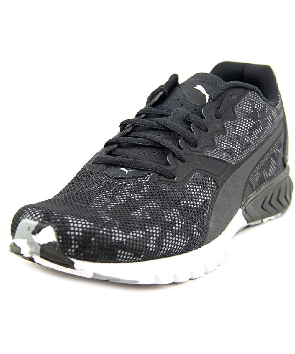 a704290b27 PUMA Puma Ignite Dual Camo Men Round Toe Synthetic Black Running Shoe .  puma   shoes  sneakers