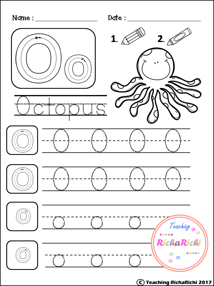 FREE Alphabet Trace and Color | Projects to try | Pinterest ...