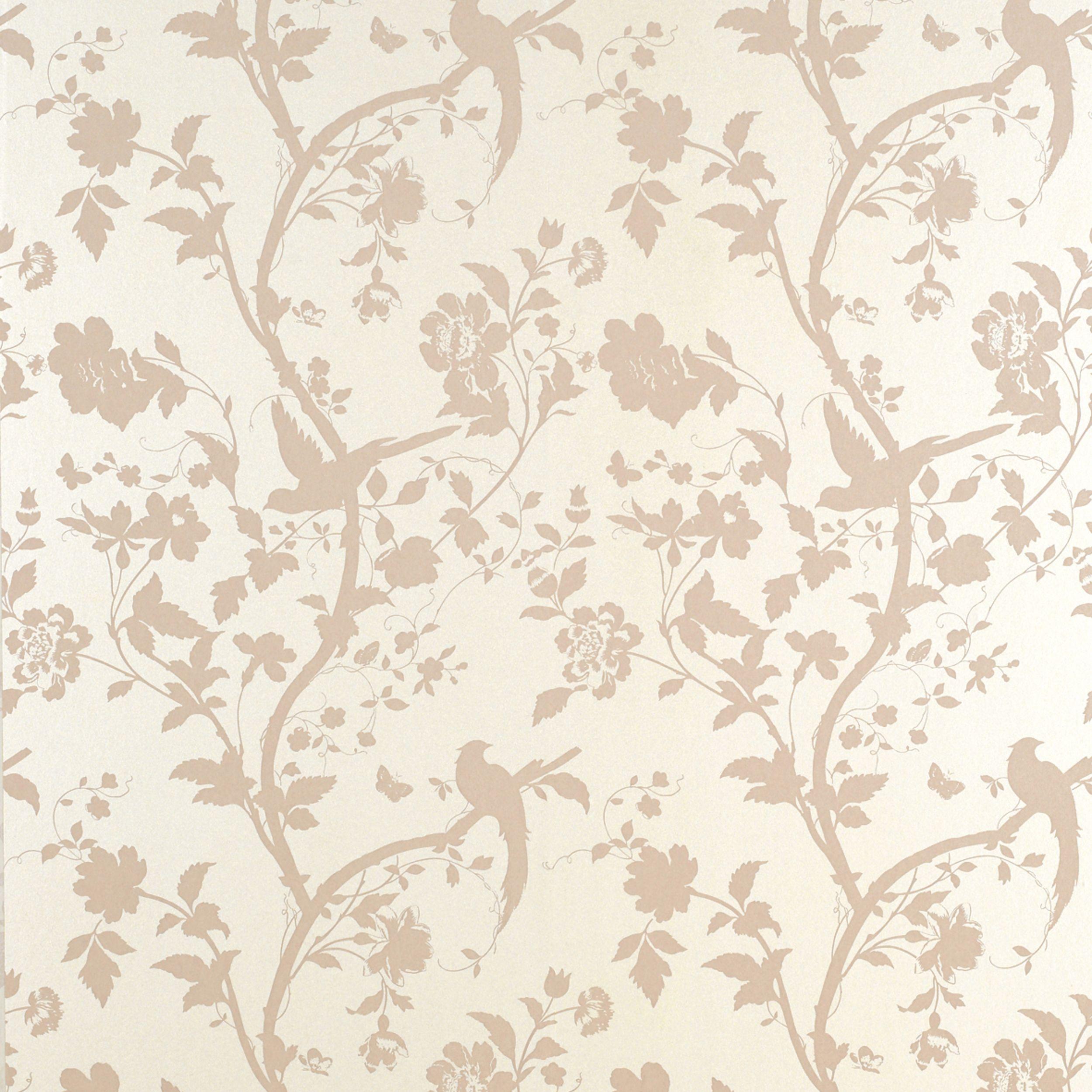 oriental garden chalk pink floral wallpaper floral wallpapers laura ashley and oriental. Black Bedroom Furniture Sets. Home Design Ideas