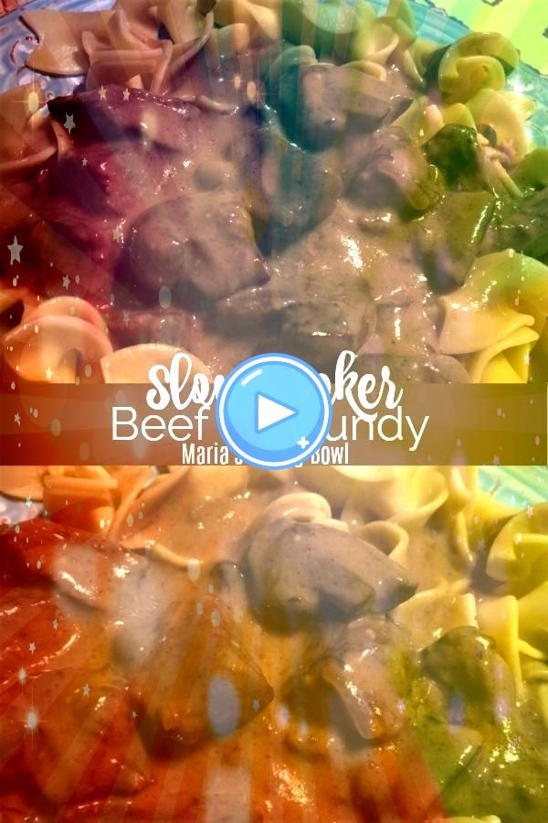 Cooker Beef Burgundy Slow Cooker Beef Burgundy Always a family favorite Made in the slow cooker with a just a handful of pantry ingredients Its a simple easy to mak...