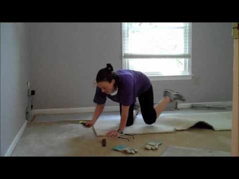 Single Ladies Diy Project Carpet Removal Youtube Diy Carpet