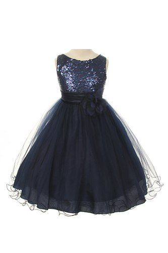Same dress we saw at shop. I can order and get 2 day shipping. It's still $40 a dress. But we don't have to special order from them...  Sequin Bodice Tulle Special Occasion Holiday Flower Girl Dress - Navy 6 Kids Dream,http://www.amazon.com/dp/B00FFGGNCS/ref=cm_sw_r_pi_dp_G5tttb00SR348AK2