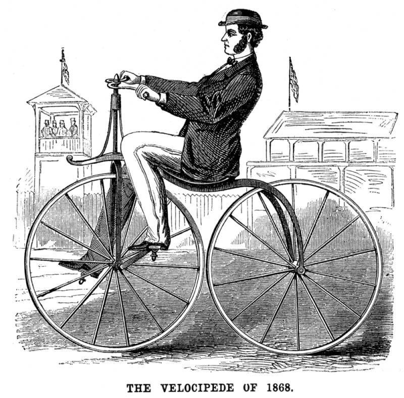 1800s Bicycle | The Bicycles of the 1800's | tricycle | Pinterest ...
