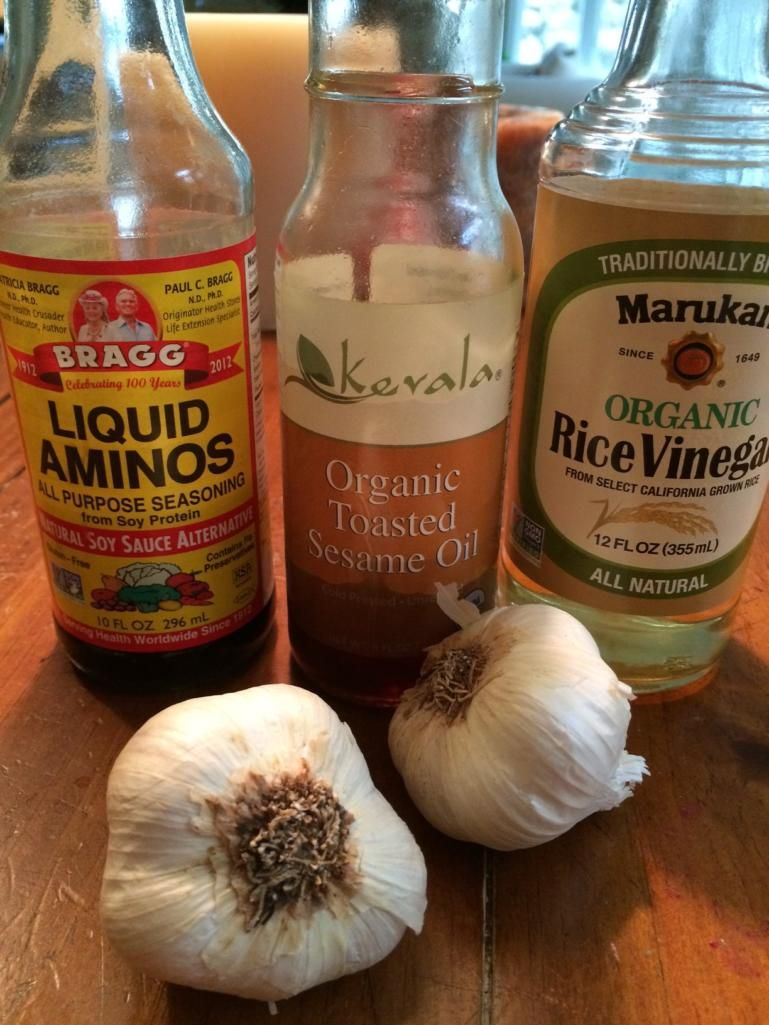 This sauce is one of my favorites for nearly any vegetable stir fry served over brown rice. It is made from four simple ingredients: organic amino acids, rice vinegar, toasted sesame oil, and garlic. Liquid Aminos Bragg Liquid Aminos is one of my favorite ingredients for vegetable sautees and for many soups, both for the … #vegetablestirfry
