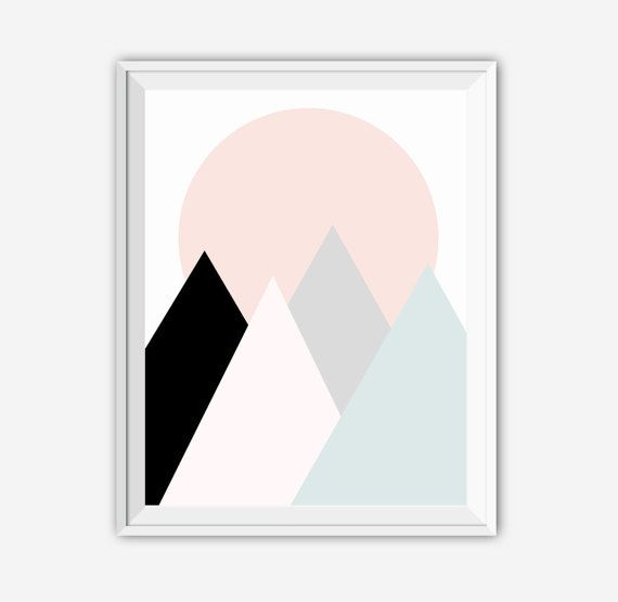 Kunstdrucke Moderne Kunst moderne kunst print set kunstdrucke druckbare kunst 4er set