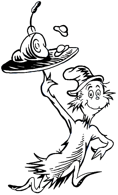 How To Draw Sam I Am From Green Eggs And Ham In Easy Steps How To Draw Step By Step Drawing Tutorials Dr Seuss Coloring Pages Dr Seuss Coloring Sheet