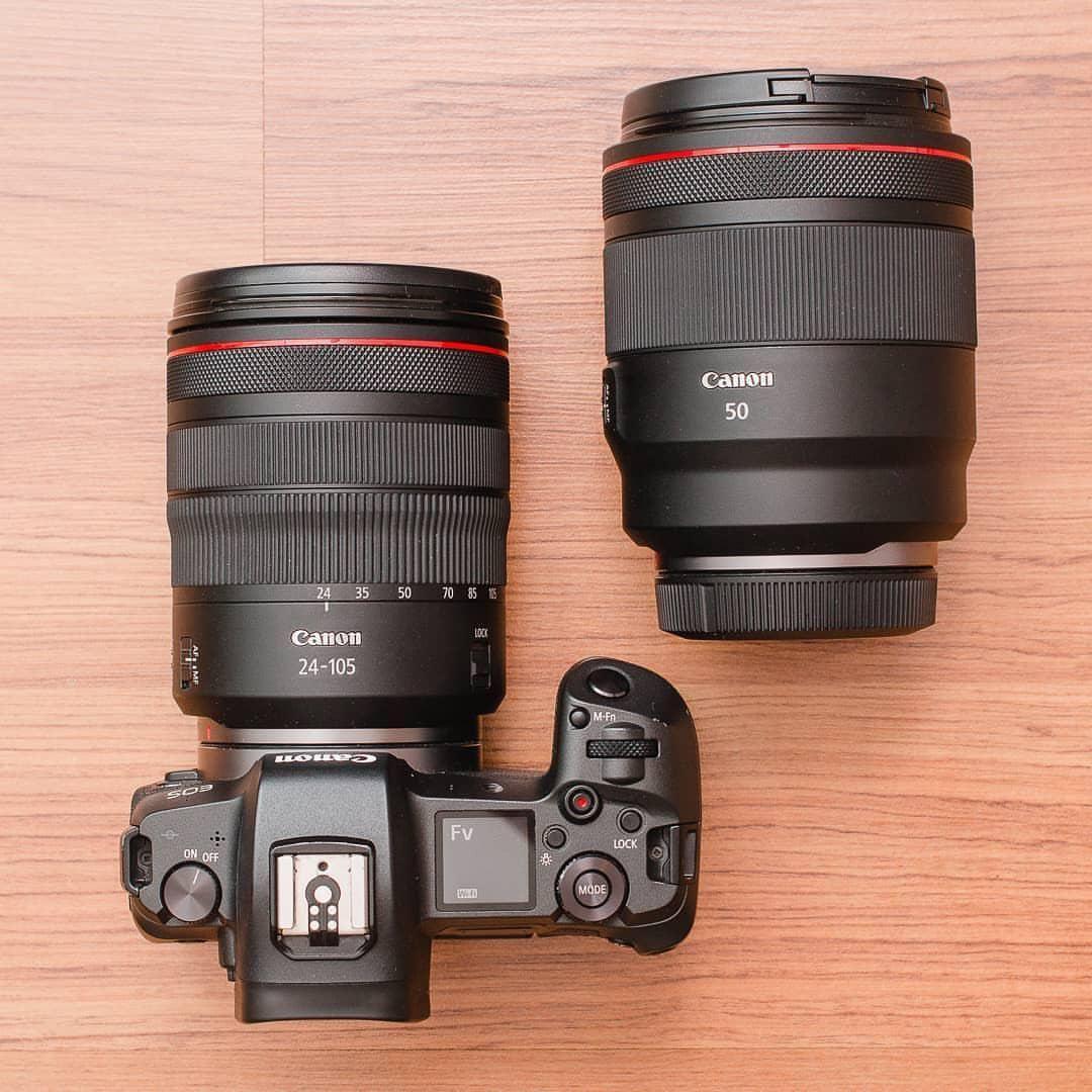 Canon Eos R Canon Rf 24 105mm F 4 Canon Rf 50mm F 1 2 Camera Gear Camera Gear Accessories Cameras And Accessories