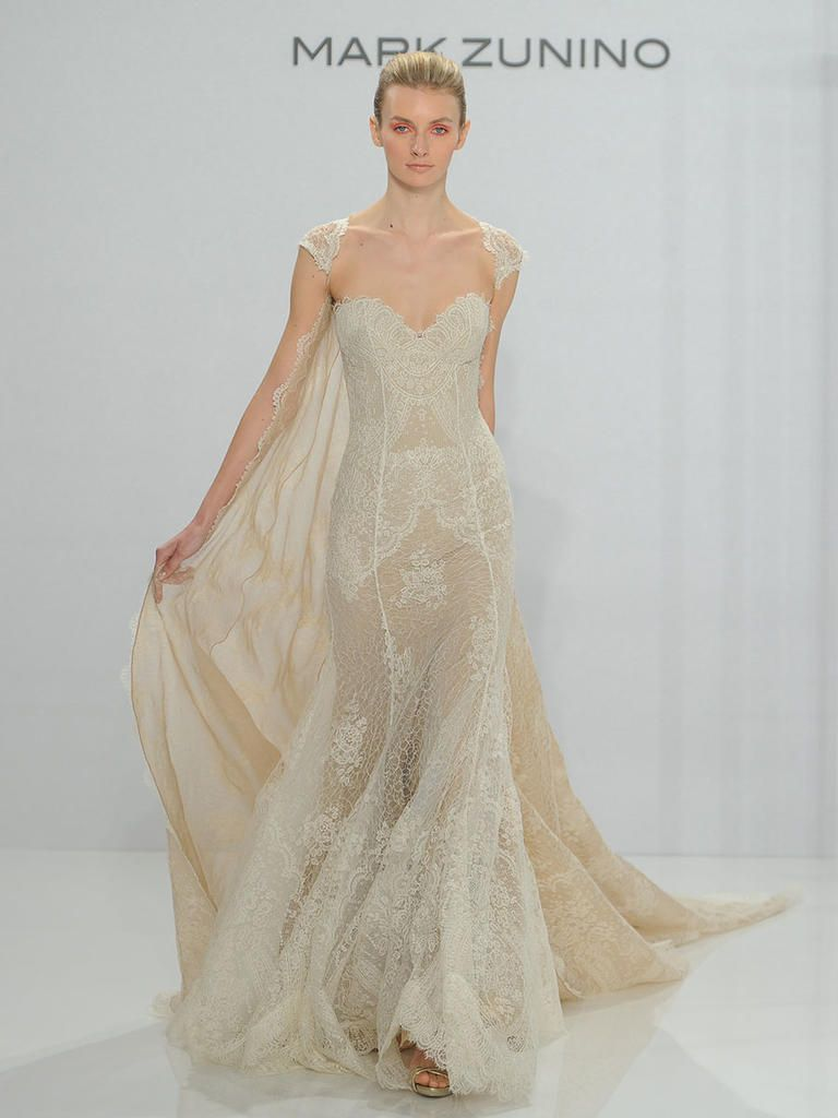 Mark zunino wedding dresses  Mark Zunino for Kleinfeld Fall  Feminine Silhouettes With