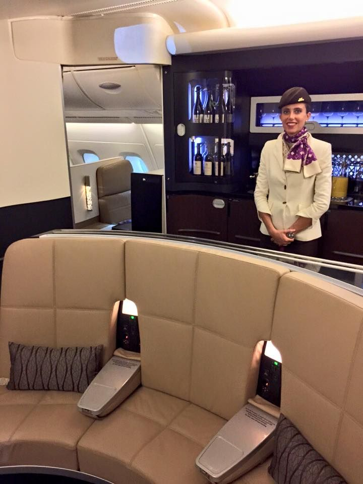 Etihad S Brand New Airbus A 380 800 The Residence First Class