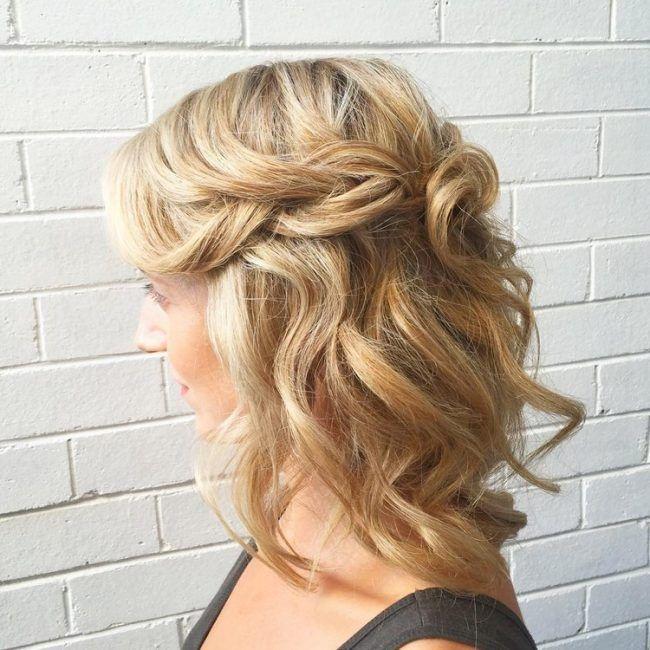Hochzeit Frisuren Mittellange Haare: 20 Ideen Und Styling-Tipps Für Jede