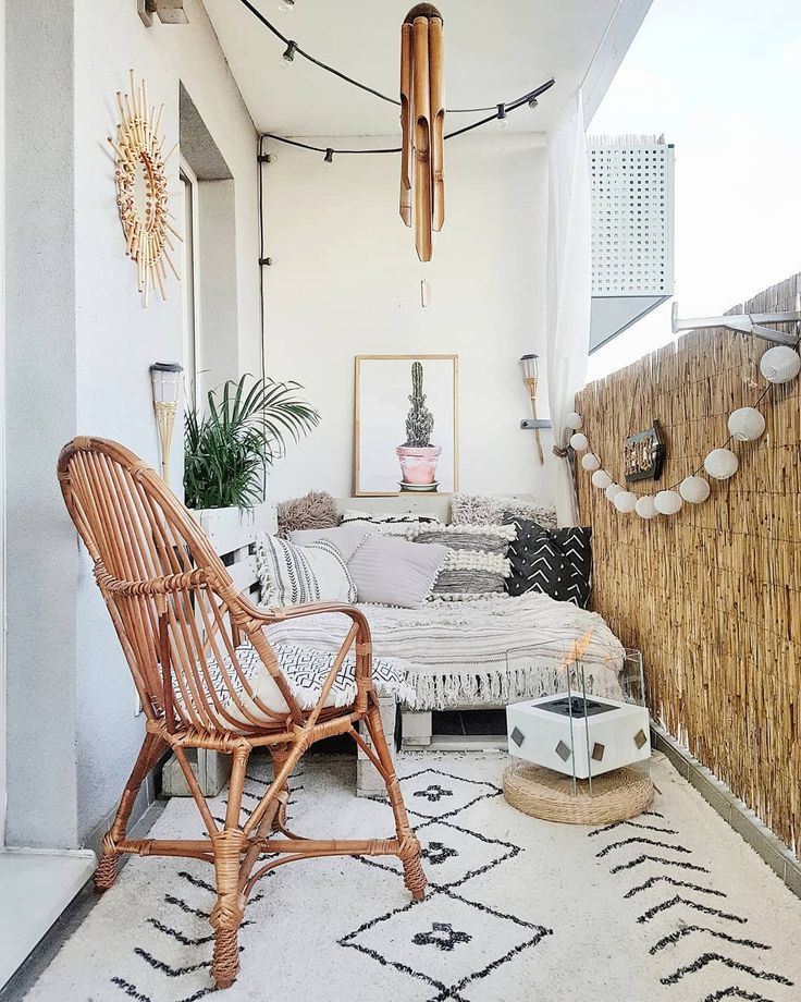 This Balcony Is What Boho-Chic Dreams Are Made of | Hunker